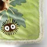 Totoro in the Sunny Forest Plush Blanket