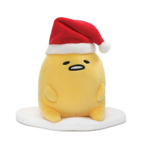 Gudetama Small Santa Hat Plush