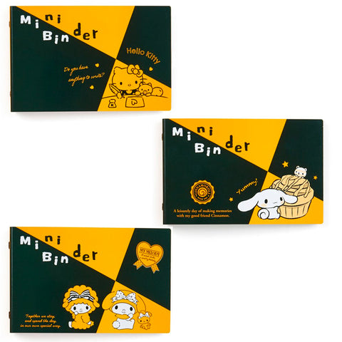 Sanrio Character Black & Yellow Mini Maruman Binder