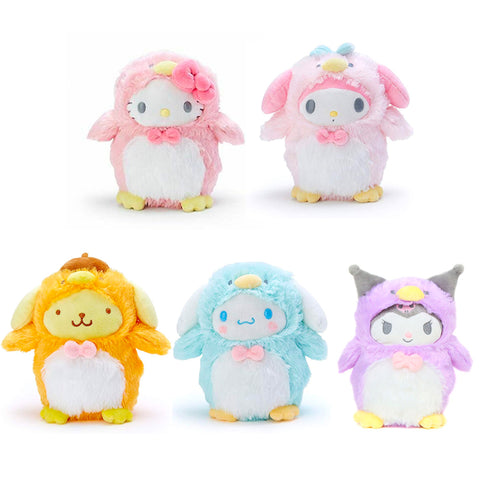 Sanrio Characters as Penguin Plush
