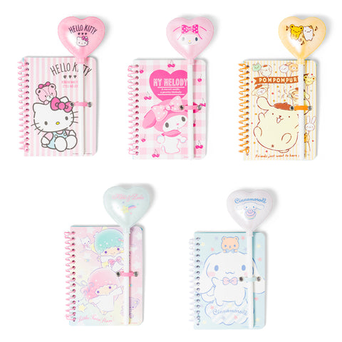 Sanrio Spiral Notebook and Balloon Pen Set
