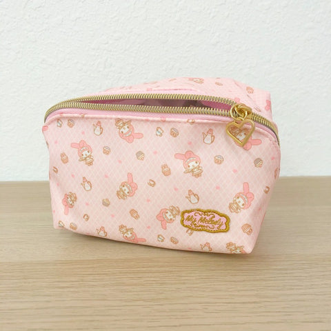 My Melody Cafe Zipper Pouch
