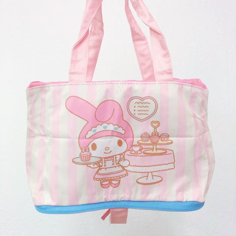 My Melody Cafe Foldable Lunch Bag