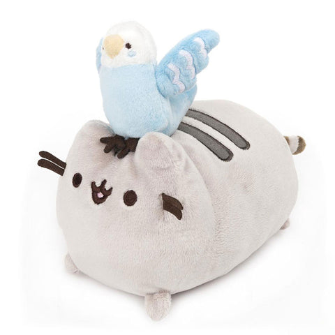Pusheen with Blue Bird Plush