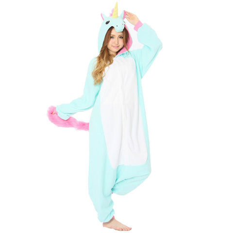 Blue Unicorn Kigurumi