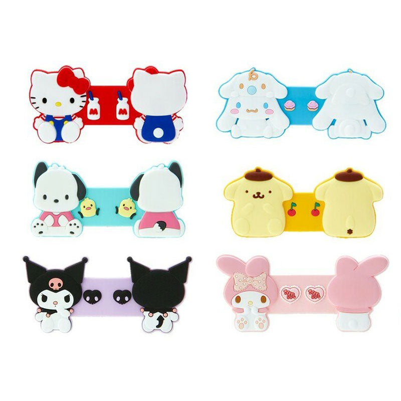 Sanrio Character Silicone Wrap Cable Holder