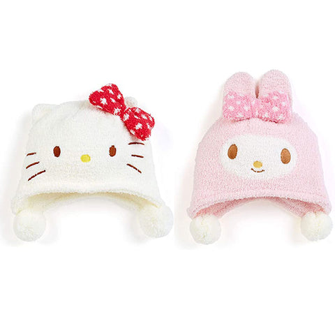 Sanrio Character Kids Fuzzy Knit Cap