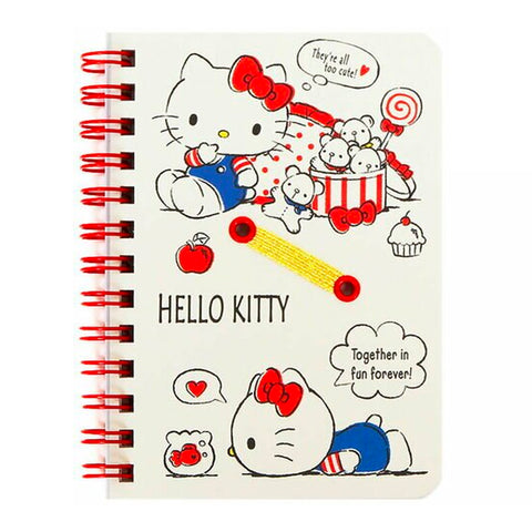 Hello Kitty Red B7 Spiral Notebook