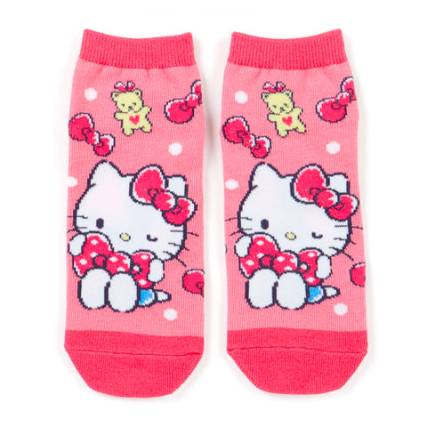 Hello Kitty Ribbon Adult Socks