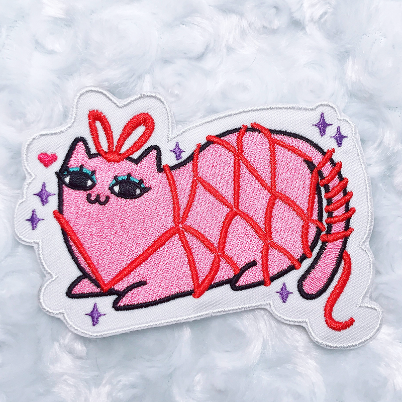 Kinky Kitty Jacqueline Patch