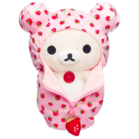 Korilakkuma Pattern Sleeping Bag Plush