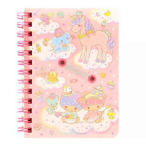 Little Twin Stars B7 Spiral Notebook