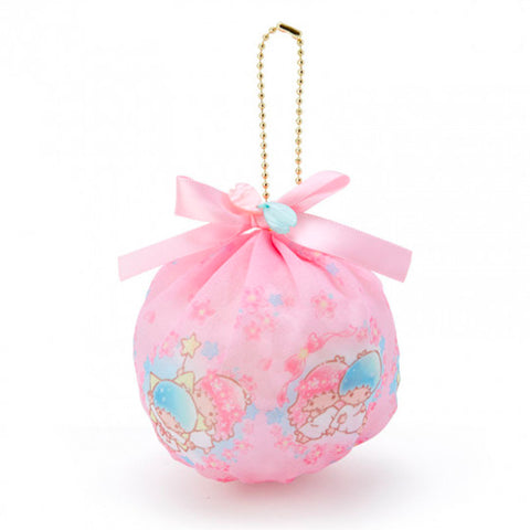 Little Twin Stars Sakura Mini Pouch Keychain