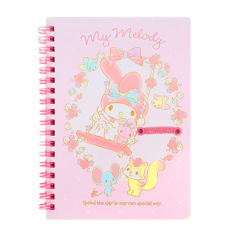 My Melody B6 Spiral Notebook
