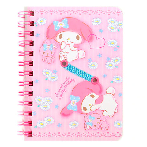 My Melody B7 Spiral Notebook