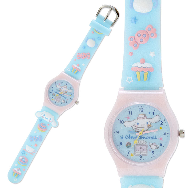 Cinnamoroll Sweets Rubber Kids Wristwatch