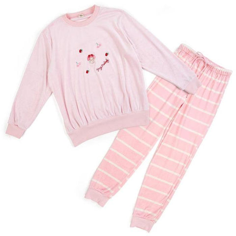 My Melody Stripe Pants Roomwear Set
