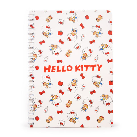 Hello Kitty Classic Red A5 Notebook