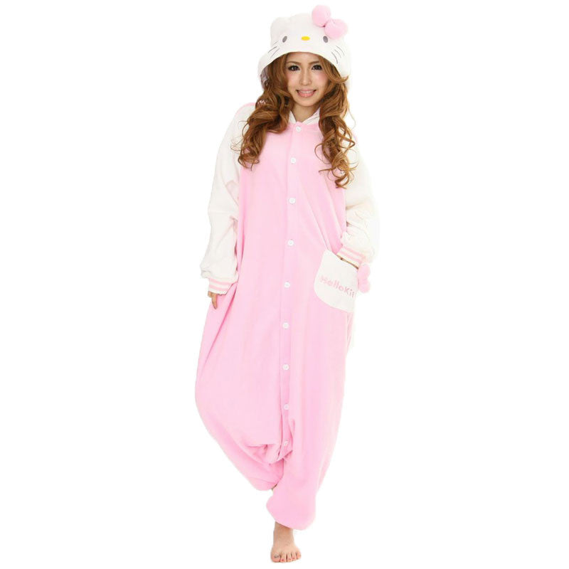 Hello Kitty Pink Kigurumi