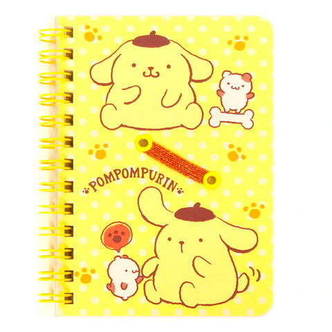 Pom Pom Purin B7 Spiral Notebook