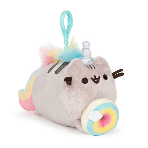 Pusheenicorn Donut Backpack Clip
