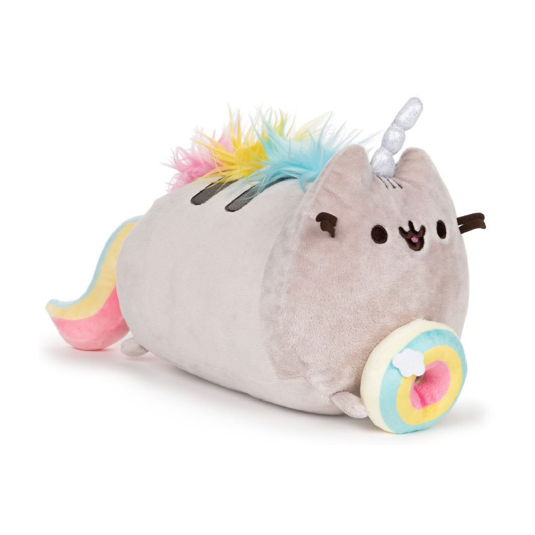 "Pusheenicorn Donut 9.5"" Log Plush"