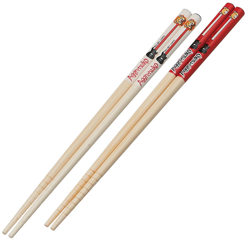 Aggretsuko Red Chopsticks Set