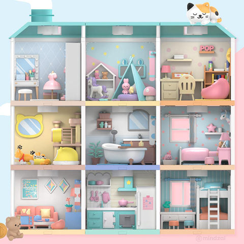 Sweet House Stackable Display