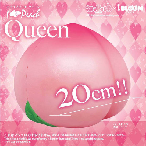 Queen Pink Peach Squishy