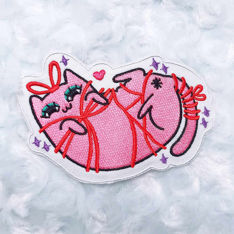 Kinky Kitty Scarlette Patch