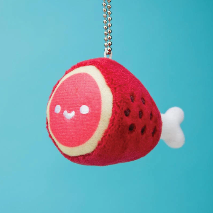 100% Soft Hambone Plush Charm