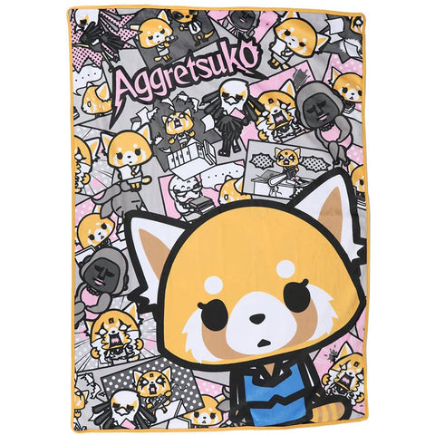 Aggretsuko Double Sided Blanket