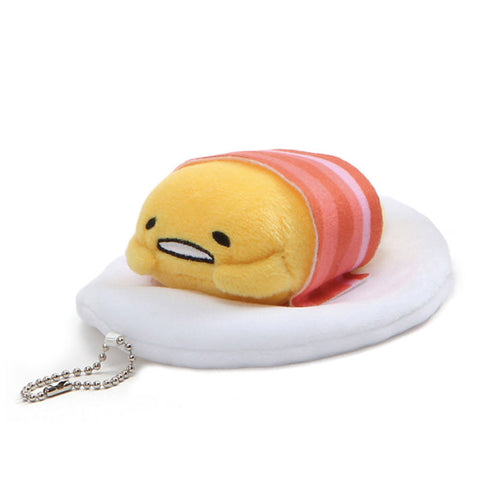 Gudetama Bacon Keychain Plush