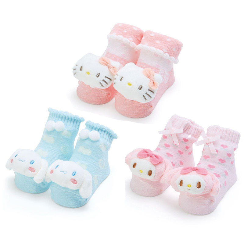 Sanrio Character Questinaminette Baby Rattle Socks
