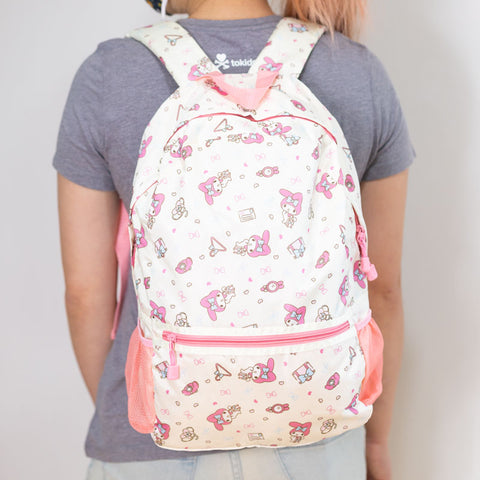 Gudetama Egg Print Backpack