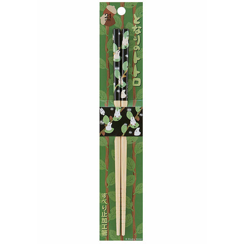 Totoro Green Leaves Bamboo Chopsticks
