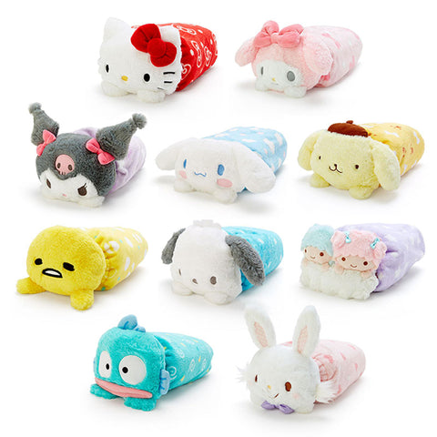Sanrio Character Boa Blanket in Plush Case