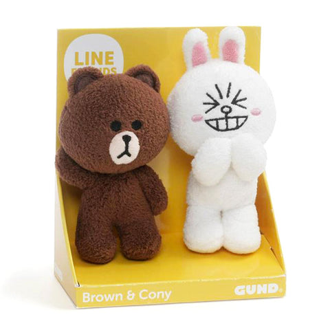 Brown & Cony Plush Set