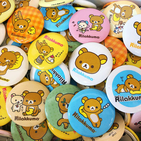 Miss Kika Beauty Button Pins