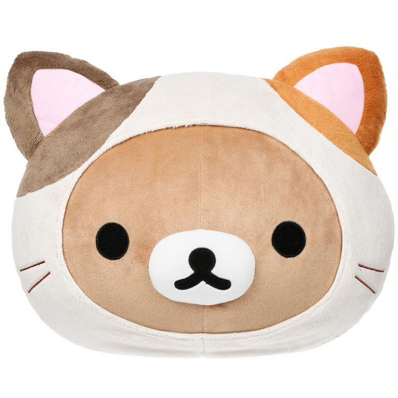 Rilakkuma Calico Head Plush