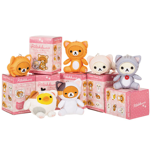 Rilakkuma Easy Going Cat Blind Box