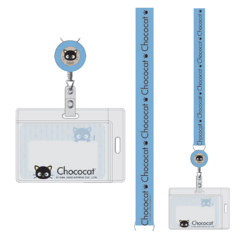 Chococat Retractable Key Leash