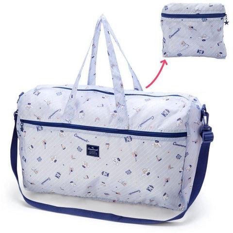 Cinnamoroll Large Blue Folding Overnight Bag