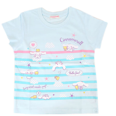 Cinnamoroll Blue Stripes Kid's Tee