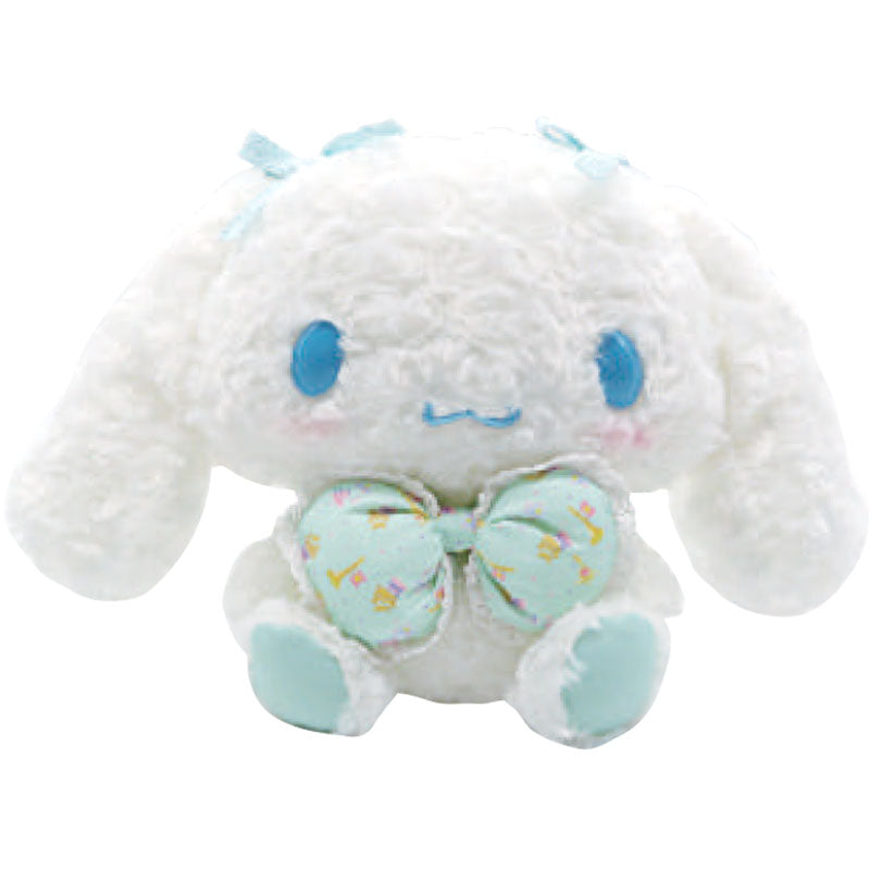 "Cinnamoroll Mint Bow Fuzzy 9"" Plush"