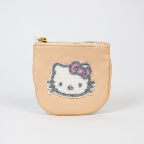 Hello Kitty Tan Coin Pouch
