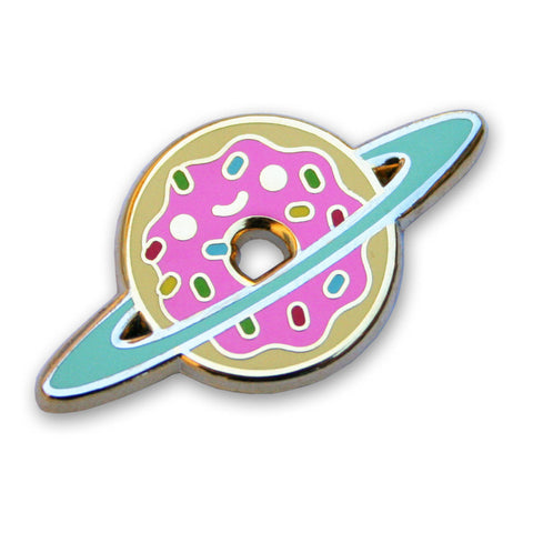 Donut Galaxy Pin