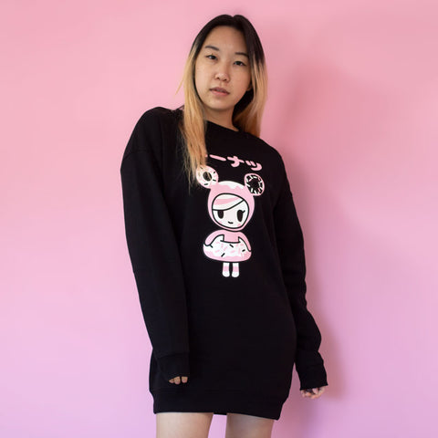 Donutella Sweatshirt Dress