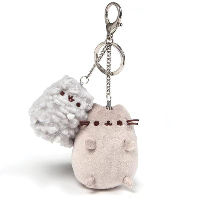 Pusheen and Stormy Keychain