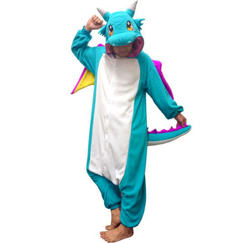 Blue Dragon Kigurumi